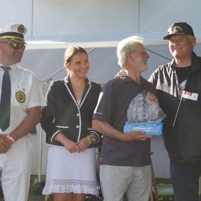 Puchar Fair Play z Gdyni dla załogi jachtu Odysseus