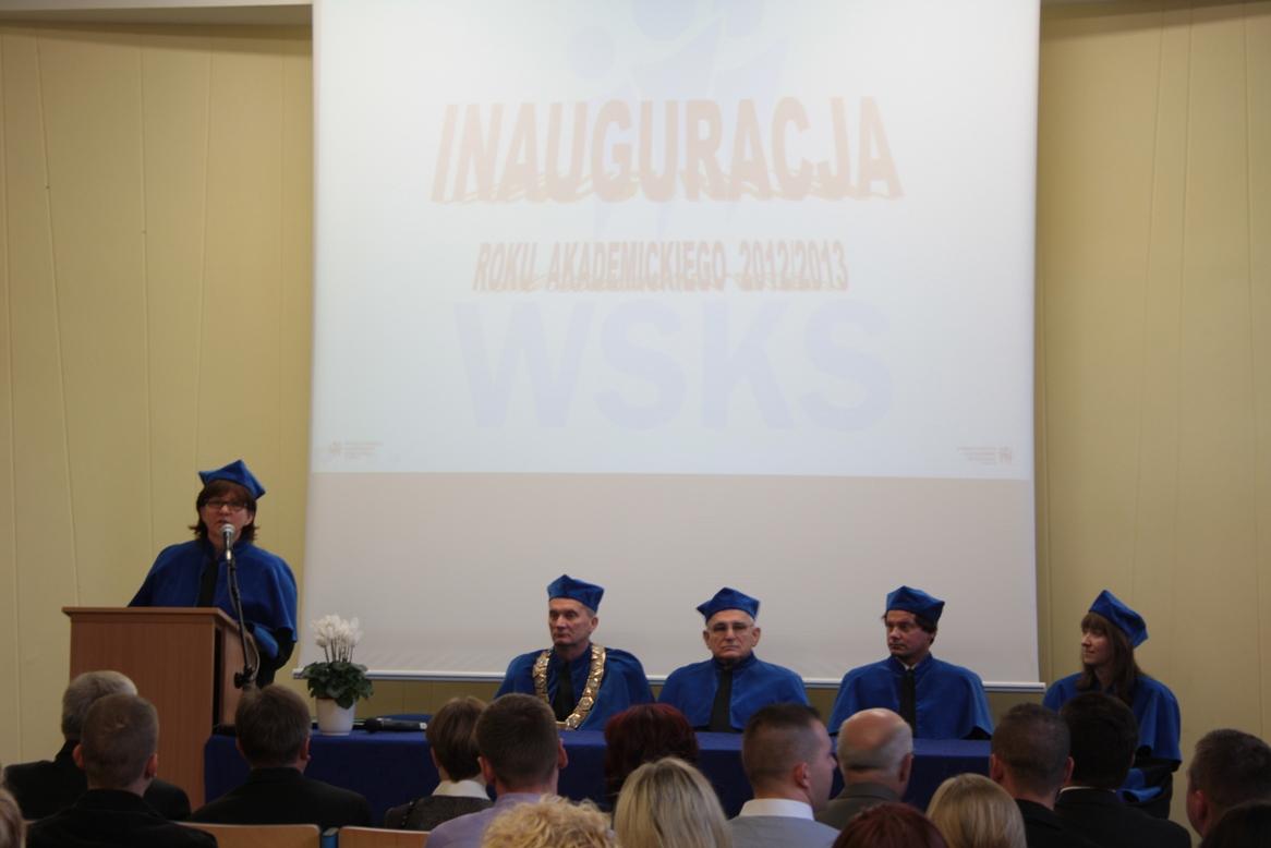 władze uczelni inauguracja