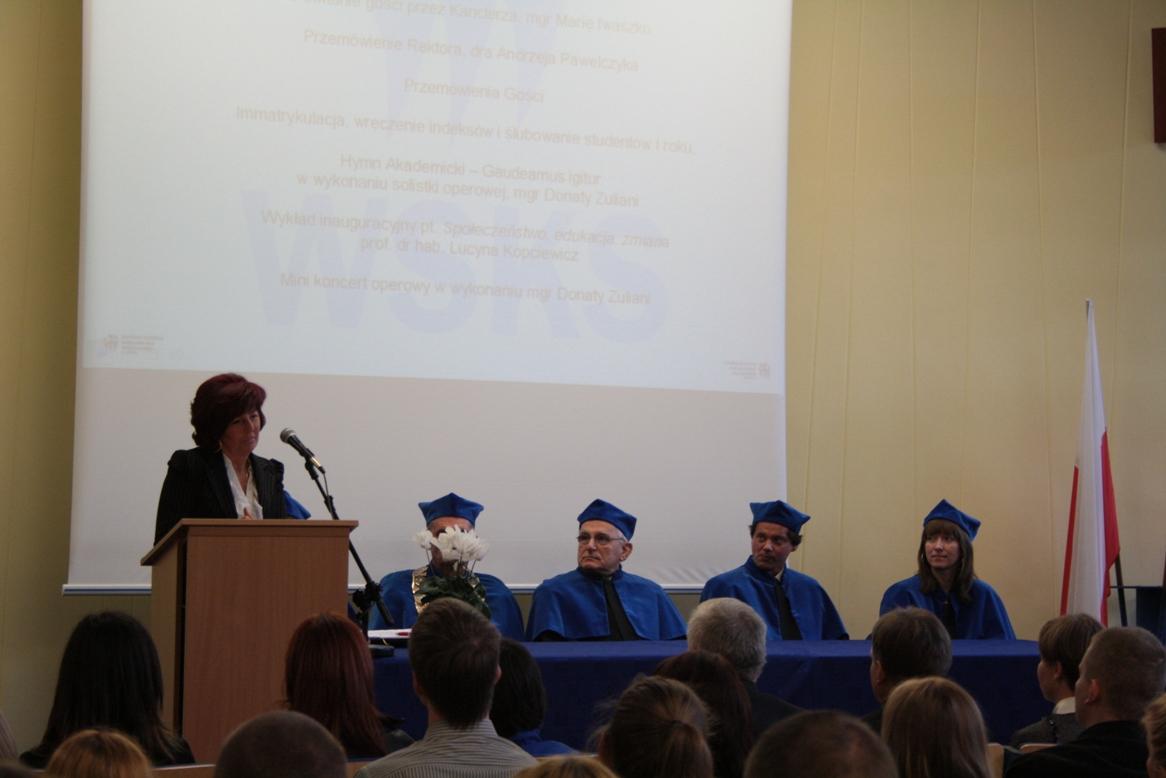 władze uczelni 2