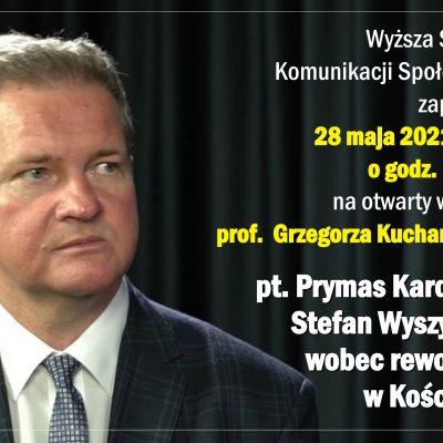 Spotkanie z prof. Kucharskim w Gdyni