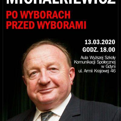 Stanisław Michalkiewicz w Gdyni 2020